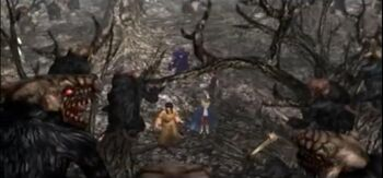 Trolls en el bosque