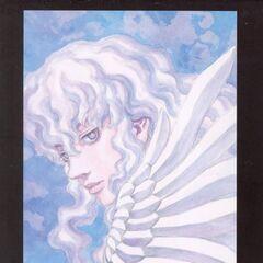 Griffith ethereally gazes on. (Vol 1 - Art card 4)