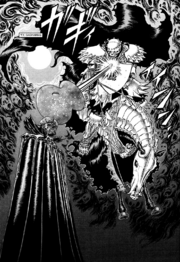Manga E88 Skull Knight Attacks Void