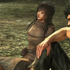 Guts enjoys a quiet moment with <a href=