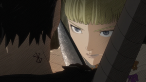Farnese questioned by Guts