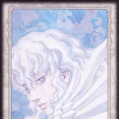 Griffith ethereally gazes on. (Secret card 4)