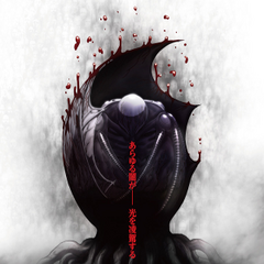 Promotional poster featuring Femto for the third film of the trilogy - Golden Age Arc III: Descent.