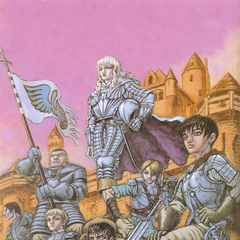 Guts alongside the rest of the Band of the Falcon.
