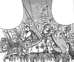 Ejército de Tudor en Vritannis