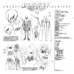 Full body concept sketches of Femto, along with concept sketches of <a href=