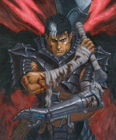 "Building Guts, the Black Swordsman from ""BERSERK"" in D&D 5th Edition"