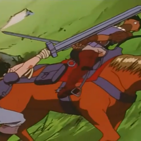 Guts discovers Casca is a woman.