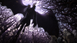 Zodd and Griffith fly over