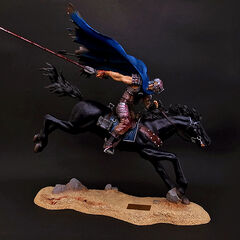 Guts on horseback statue released by Art of War.