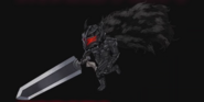 Guts con armadura Berserker (Crystal of Reunion)