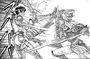 Silat lucha contra Casca