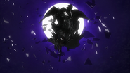 Skull Knight irrumpiendo en el Eclipse (anime 2016)