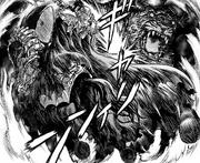 Manga E225 Skull Knight Battles Zodd