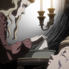 Farnese tends to Serpico's wounds.