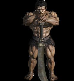 Zodd humano (Berserk Musou)