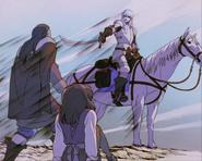 Griffith entre noble y Casca (anime 1997)