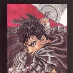 A bloody Guts prepares to swing the Dragon Slayer. (Vol 1 - art card 1)
