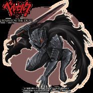 Guts con armadura Berserker (colaboración con Overlord)