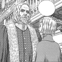 Farnese talks to her <a class=