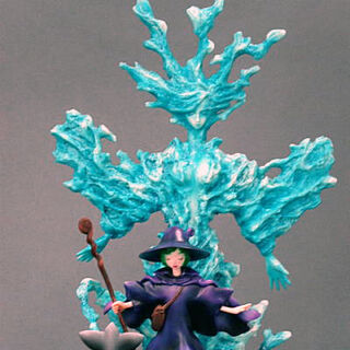 Schierke summoning the Lady of the Depths figure released by Getsurou.