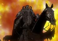 Skull Knight a caballo (anime 2016)