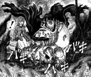 Manga E160 Skull Knight Attacks EotPW