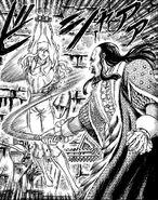 El rey de Midland tortura a Griffith