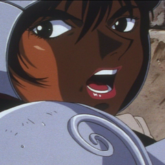 Casca on the frontlines of battle.