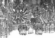 Ganishka recibe a Tapasa