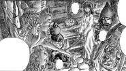 Herejes torturados piden ayuda a Casca