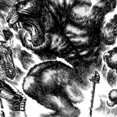 Zodd assumes his true form on the Hill of Swords.