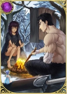 Carta Guts y Casca (Crystal of Reunion)