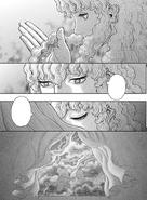 Griffith obvserva su pelo y desaparece
