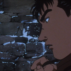 Guts considers his future.