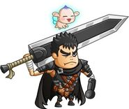 Guts y Puck (Castle & Dragon)