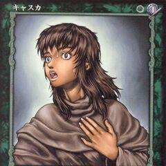 Casca experiences pain from her <a href=