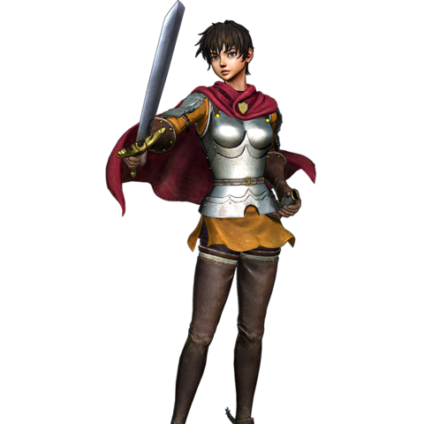 Render of Golden Age Arc Casca in <i><a href=