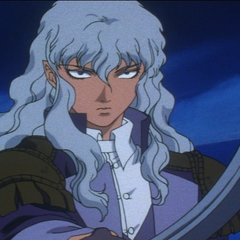 Griffith being possessive of Guts.