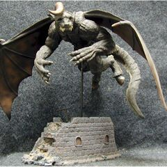 PVC statue of Zodd flying in his apostle form released by Art of War.
