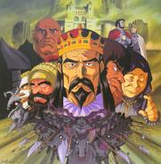 Gente de Midland y Tudor (Laserdisc anime 1997)