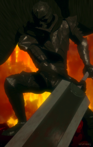 Guts Dons The Armor