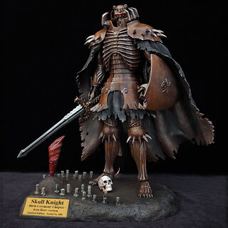 Skull Knight Birth Ceremony iron rust version statue released by Art of War.