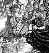 Serpico evita a Guts en segunda batalla