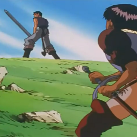 Casca is ordered to not interfere in their fight.