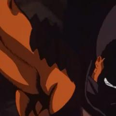 Guts draws the Dragon Slayer