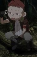 Isidro afectado por magia (anime)