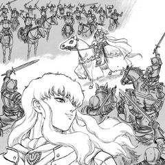 Griffith is praised by his soldiers.