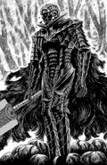 Guts viste la armadura Berserker por primera vez