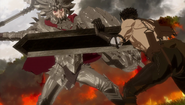 Grunberd vs Guts (anime)